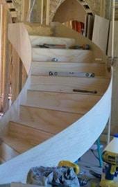 Mode de construction du constructeur d'escalier