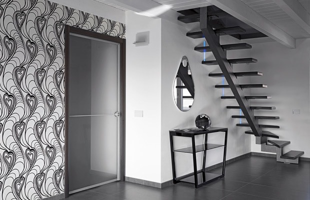 escalier en acier inspiration info conseil de prix. Black Bedroom Furniture Sets. Home Design Ideas