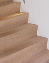 Revêtement d'escalier en hêtre