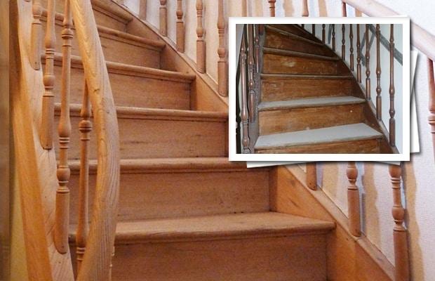 Rénovation D'Escalier: Résumé Des Possibilités