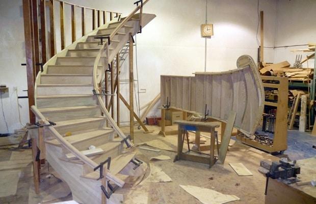 Constructeur d'escalier: réalisation