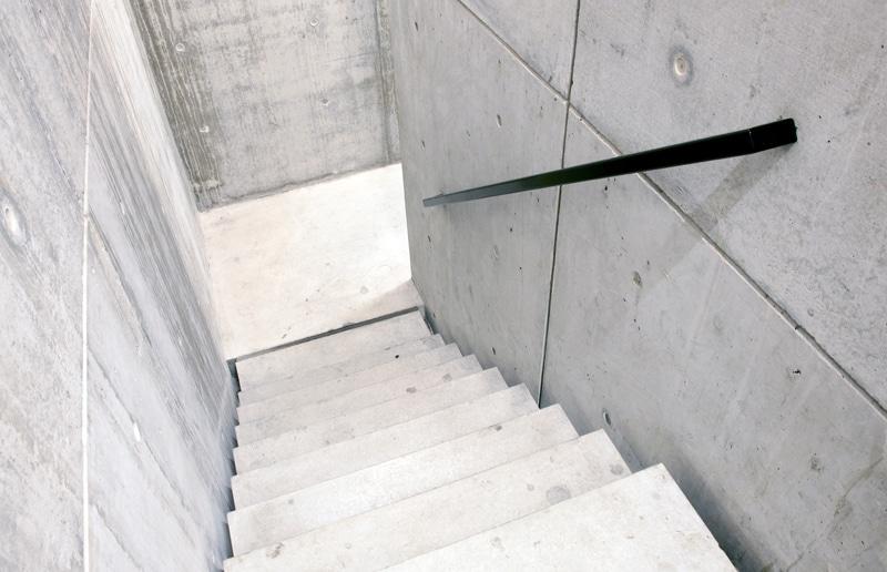 Escalier design en béton