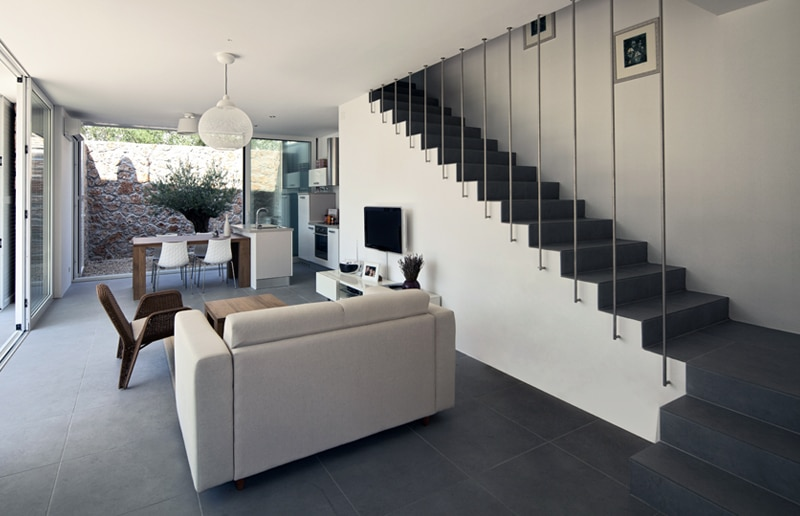 Escalier design r alisations conseils de prix - Escalier beton moderne ...