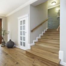 Escalier en chêne: Entretien & prix d'un escalier en bois