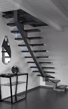 escalier ouvert types d'escaliers
