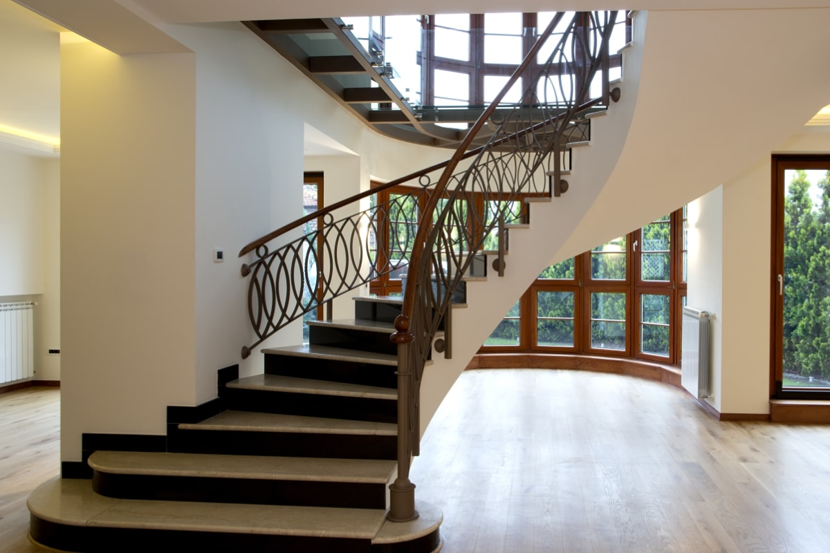 alternative escalier tournant