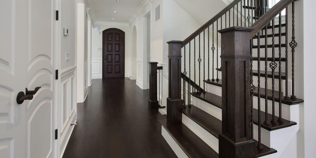 escalier bois traditionnel