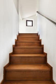 escalier cave bois